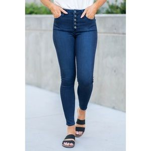 JUST USA • Button Fly Ankle Jean